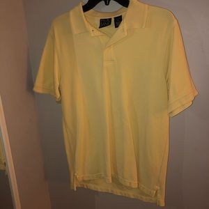 yellow jos. a. bank polo